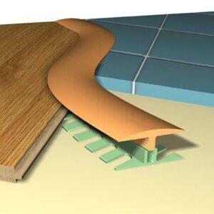 Гибкий Стыковочный Профиль Polmar Step Flex (3 метра)