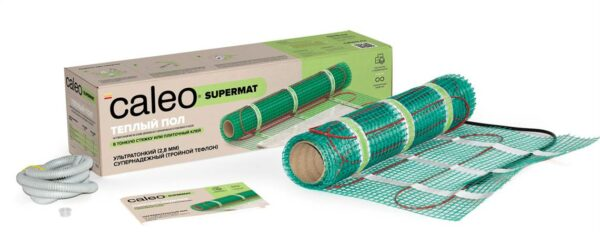 Нагревательный Мат Для Теплого Пола Caleo Supermat 130 Вт/м2 7 м2