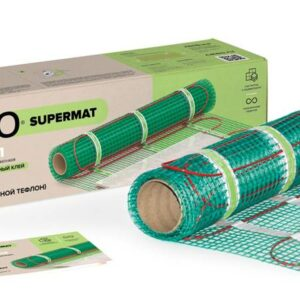 Нагревательный Мат для теплого пола Caleo Supermat 200 Вт/м2 0