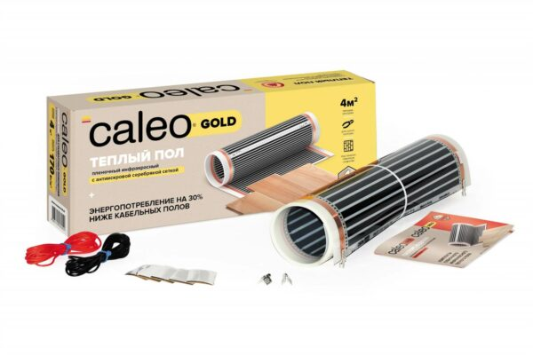 Пленочный Теплый Пол Caleo Gold 170 Вт/м2 4 м2