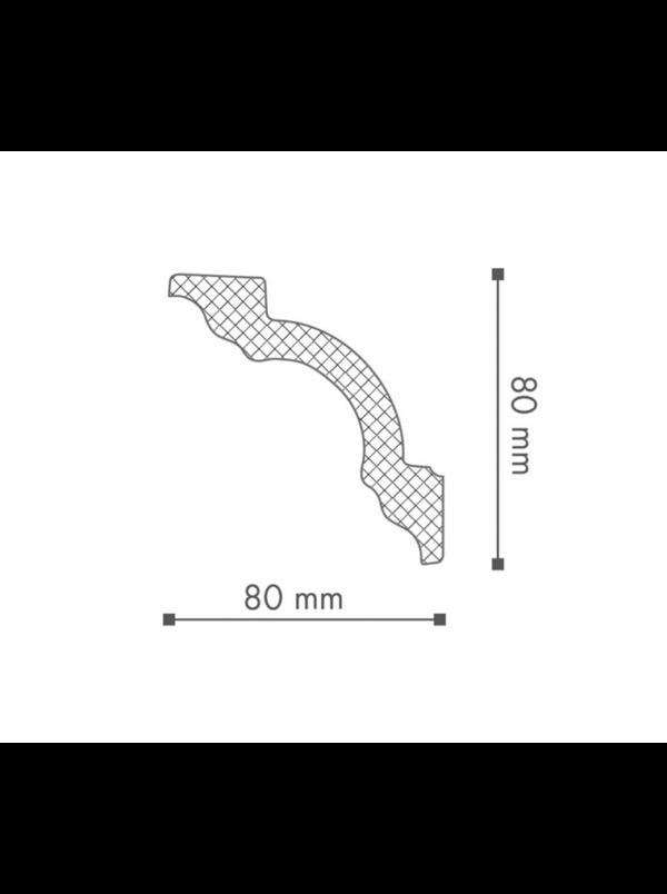 Плинтус Потолочный NMC Nomastyl Plus A1