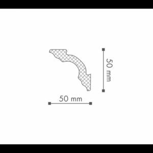 Плинтус Потолочный NMC Nomastyl Plus A2