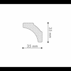Плинтус Потолочный NMC Nomastyl Plus B2