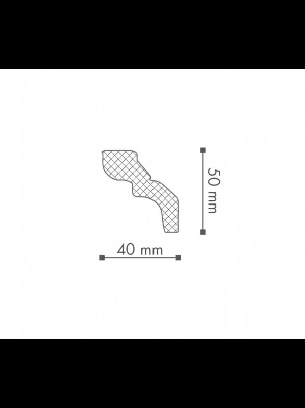 Плинтус Потолочный NMC Nomastyl Plus D