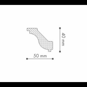 Плинтус Потолочный NMC Nomastyl Plus H