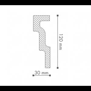 Плинтус Потолочный NMC Nomastyl Plus M1