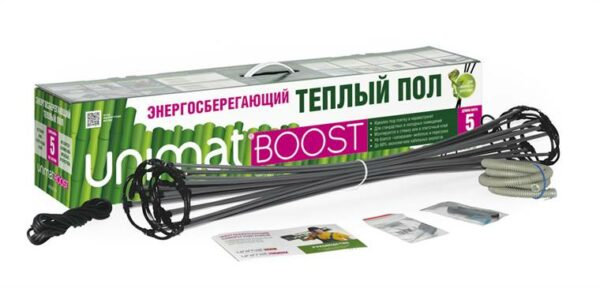 Стержневой Теплый Пол Caleo Unimat Boost 160 Вт/м2 1 пог/м