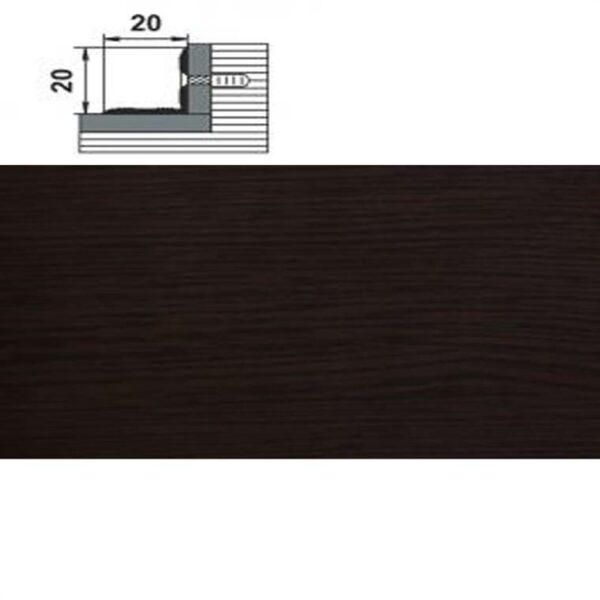 Угловой Стыковочный Профиль Лука ПУ 05-1 L-900