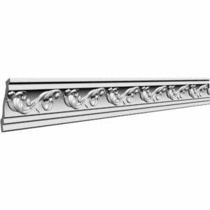Плинтус потолочный Glanzepol GP-15