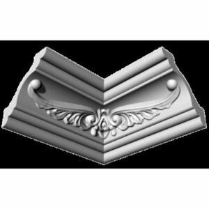 Плинтус потолочный Glanzepol GP-16