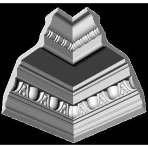 Плинтус потолочный Glanzepol GP-2