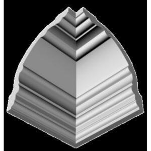 Плинтус потолочный Glanzepol GP-21