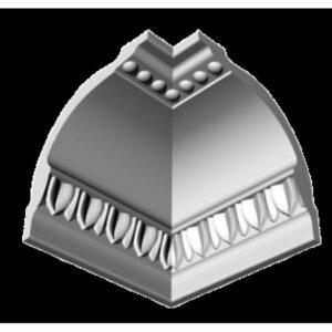 Плинтус потолочный Glanzepol GP-22