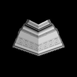 Плинтус потолочный Glanzepol GP-24