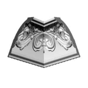 Плинтус потолочный Glanzepol GP-32