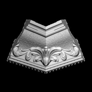 Плинтус потолочный Glanzepol GP-33