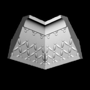 Плинтус потолочный Glanzepol GP-35