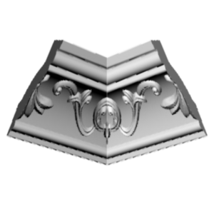 Плинтус потолочный Glanzepol GP-36