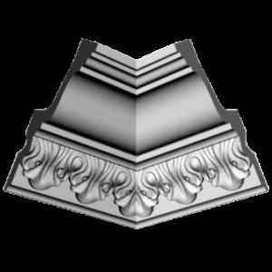 Плинтус потолочный Glanzepol GP-41