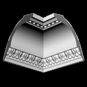 Плинтус потолочный Glanzepol GP-42