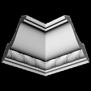 Плинтус потолочный Glanzepol GP-44