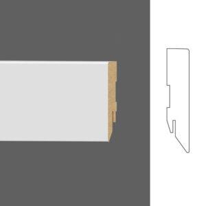 """Плинтус напольный Classen Pure Basic 2601402 16x60 мм """"Белый"""""""