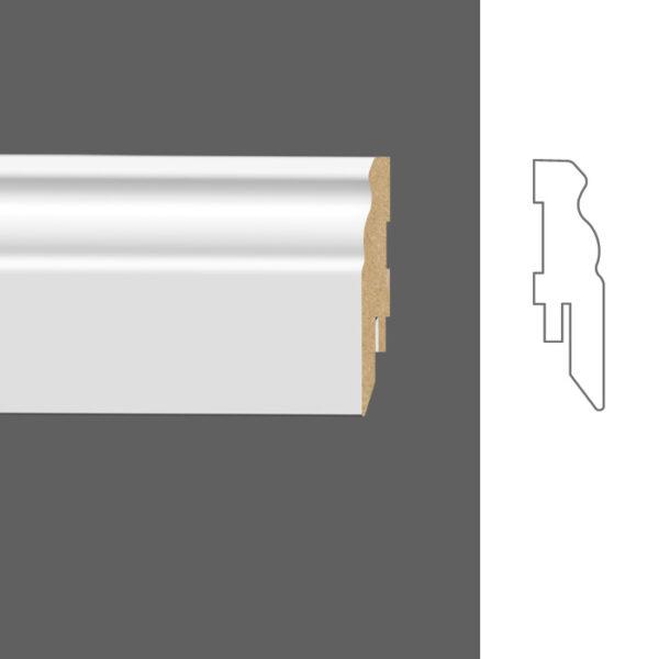 напольный Classen Pure Naxos 2601687 16x60 мм 22Белый22