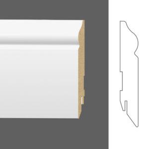 "Плинтус напольный Classen Pure Pax 2111687 16x110 мм ""Белый"""