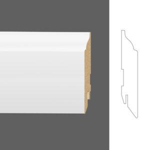 """Плинтус напольный Classen Pure Rex 2901687 16x90 мм """"Белый"""""""