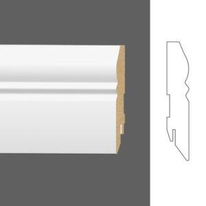 """Плинтус напольный Classen Pure Rustic 222389 16x90 мм """"Белый"""""""
