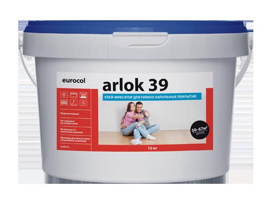 Клей-фиксатор для гибких ПВХ покрытий Eurocol Arlok 39 1 кг