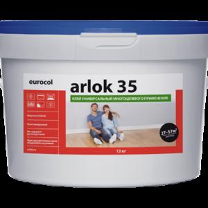 Клей универсальный для ПВХ покрытий Eurocol Arlok 35 1.3 кг
