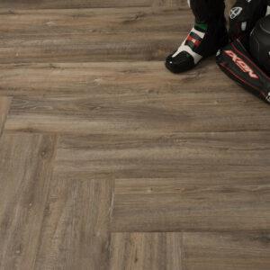 "Кварц-виниловая плитка Fine Floor Gear Click FF-1813 ""Дуб Сарта"""