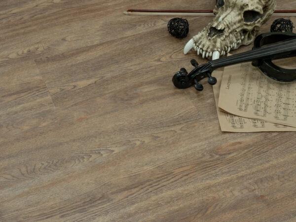 "Кварц-виниловая плитка Fine Floor Wood Click FF-1507 ""Дуб Карлин"""