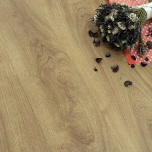 """Кварц-виниловая плитка Fine Floor Wood Click FF-1508 """"Дуб Квебек"""""""