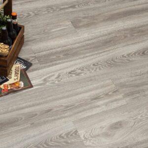 """Кварц-виниловая плитка Fine Floor Wood Click FF-1516 """"Дуб Бран"""""""