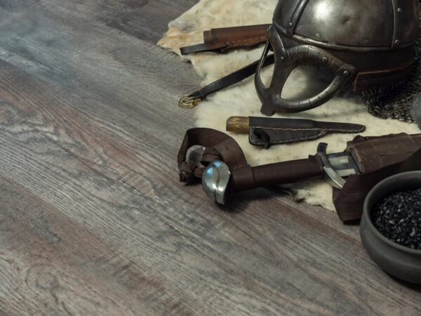 "Кварц-виниловая плитка Fine Floor Wood Click FF-1518 ""Дуб Этна"""
