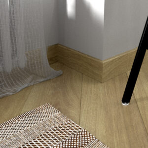"""Плинтус напольный Fine Floor FF-1508/1408 """"Дуб Квебек"""""""
