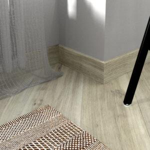 """Плинтус напольный Fine Floor FF-1574/1474 """"Дуб Верона"""""""