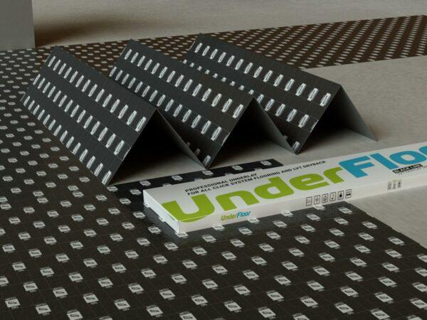 podlozhka fine floor under floor black line 1 mm