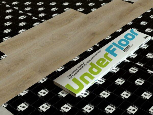 podlozhka fine floor under floor black line 1 mm2