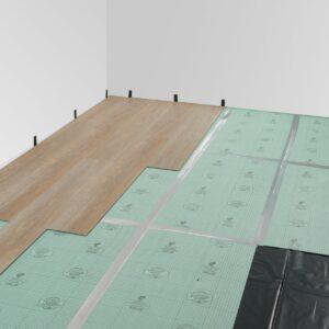 Подложка листовая под LVT покрытия Solid 1.5 мм